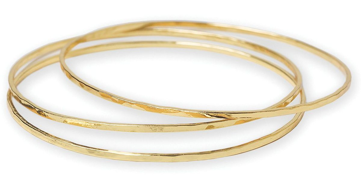 bracelets bangles il grande silver sterling of fullxfull bangle products product set hammered six