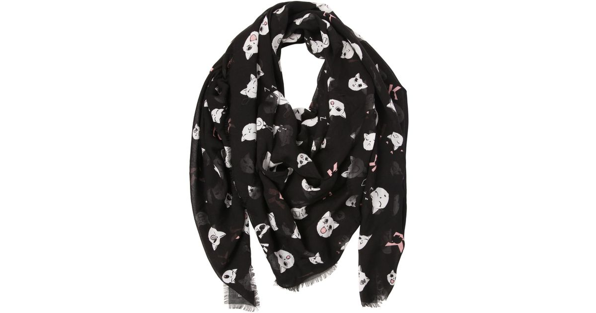Choupette print scarf - Multicolour Karl Lagerfeld 760LX