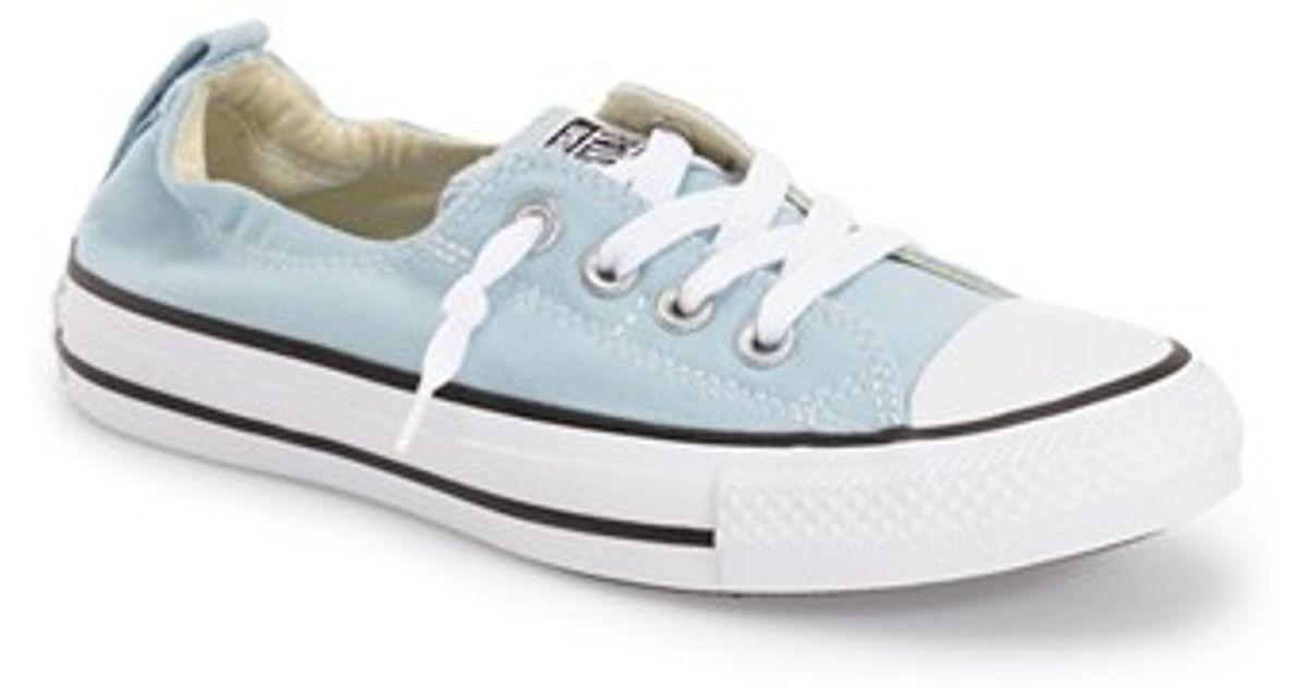 4d3ea51192ea Lyst - Converse Chuck Taylor All Star  shoreline  Sneaker in Blue