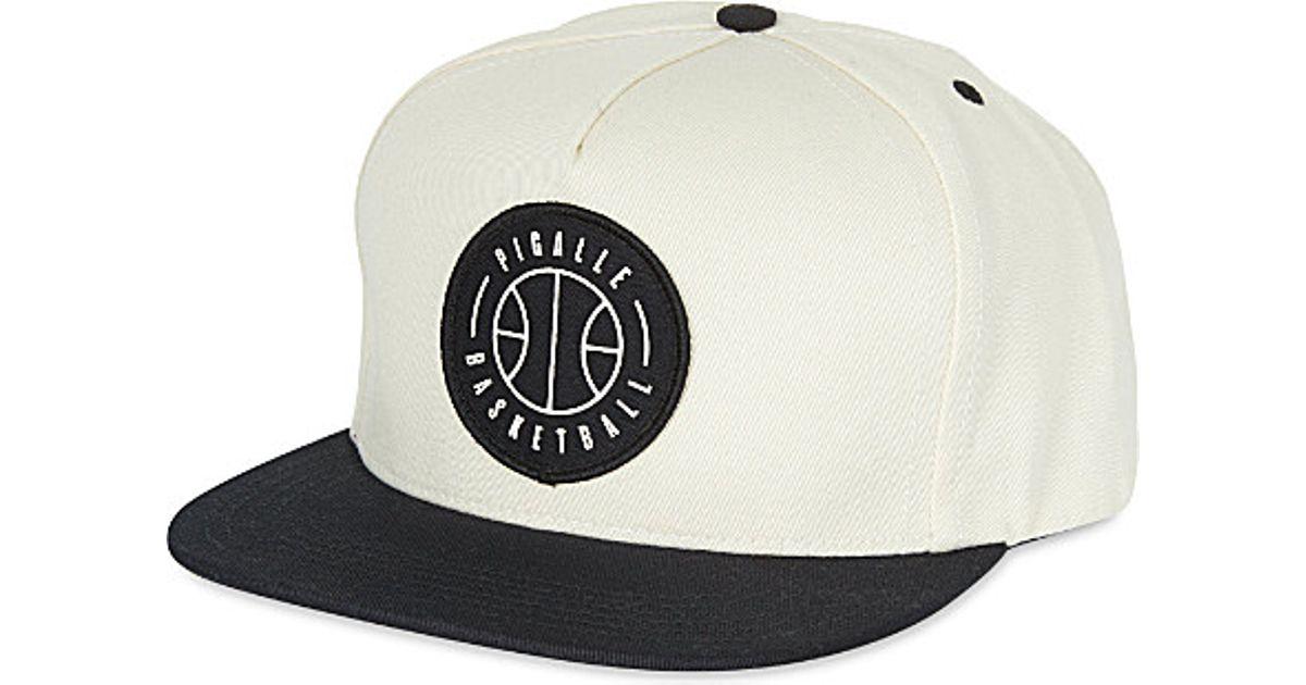 728e9005f24 Pigalle Basketball Snapback Cap - For Men in Black for Men - Lyst