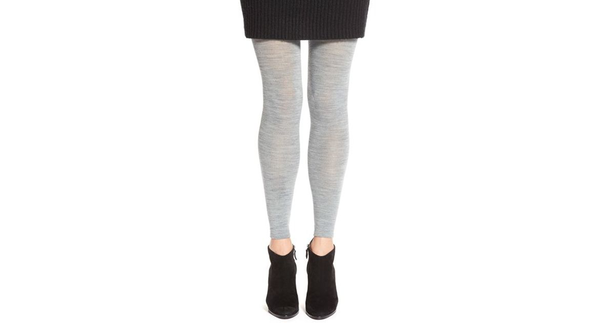 eb7e46bfc9e2f Smartwool 'basic Ii' Footless Tights in Gray - Lyst