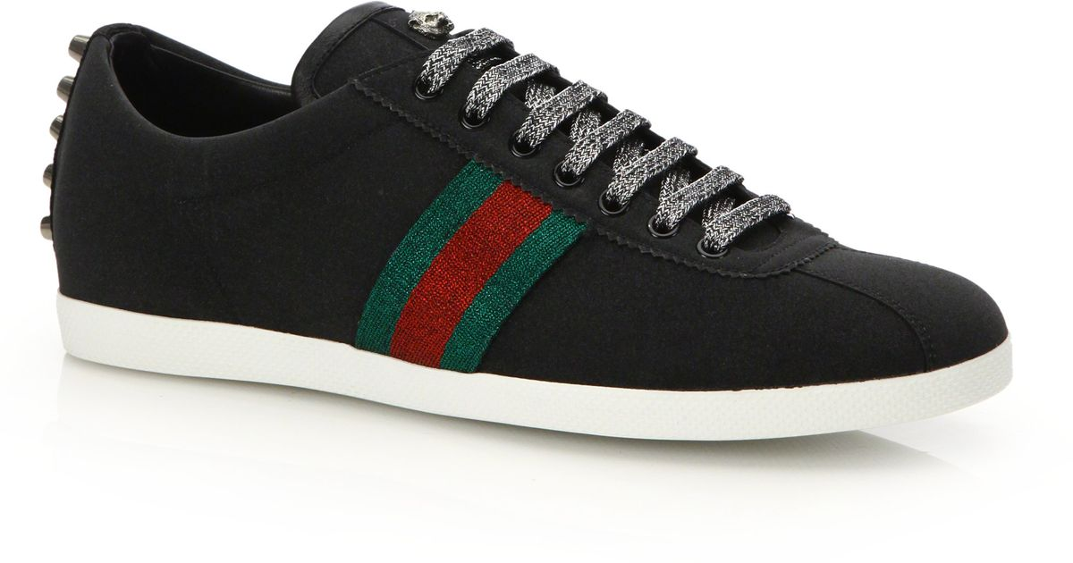 Gucci Sparkle Sneakers In Black For Men Lyst