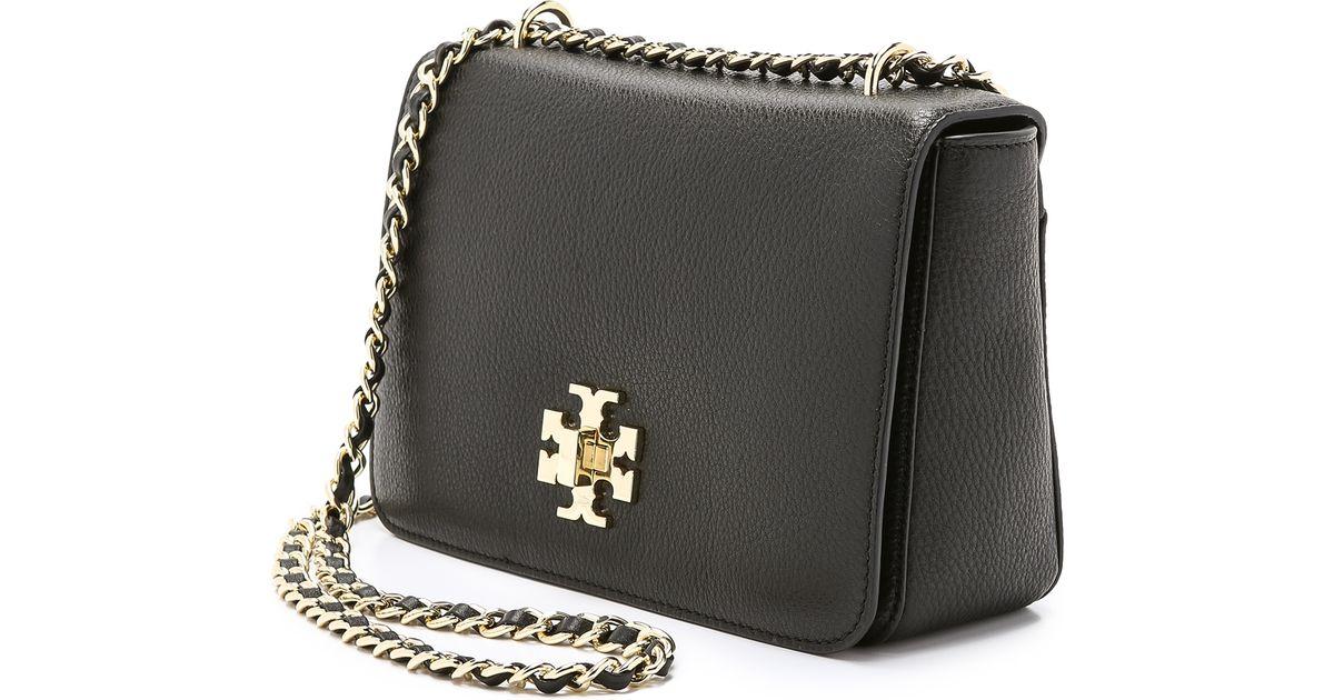 8ea69c21268 Lyst - Tory Burch Mercer Adjustable Shoulder Bag in Black