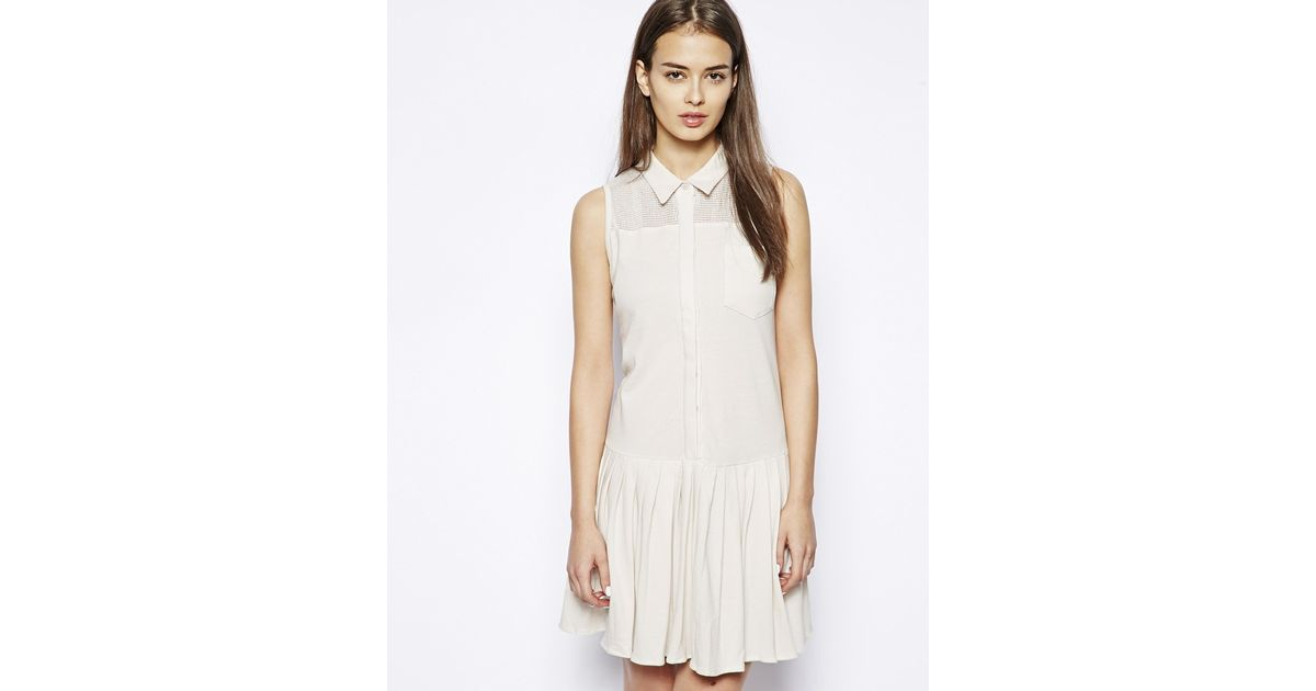 Lyst Dress Gallery Normandy Tennis Dress In Natural