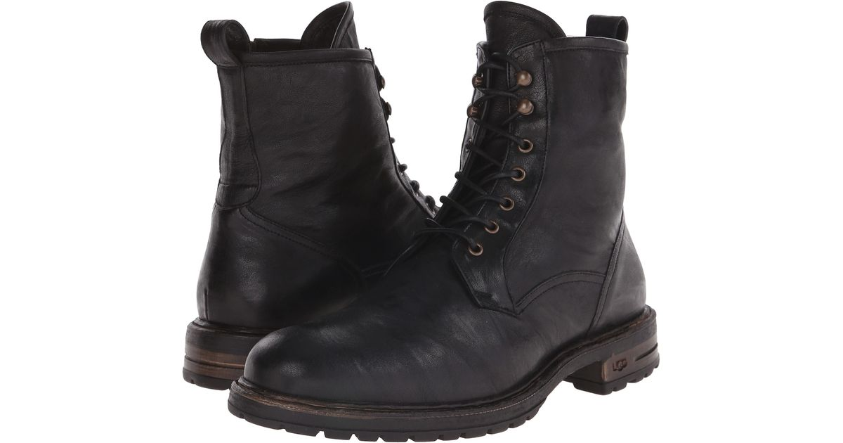 Mens Boots UGG Collection Lucca Black