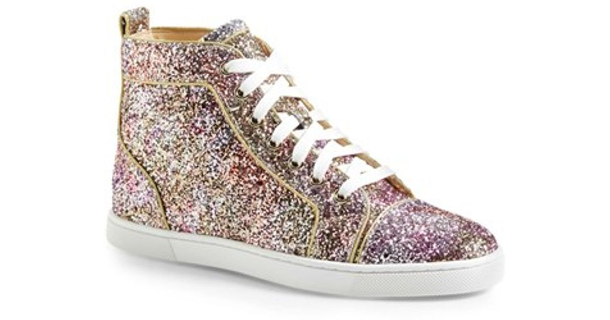 aafe21045b27 Lyst - Christian Louboutin  bip Bip  High Top Sneaker