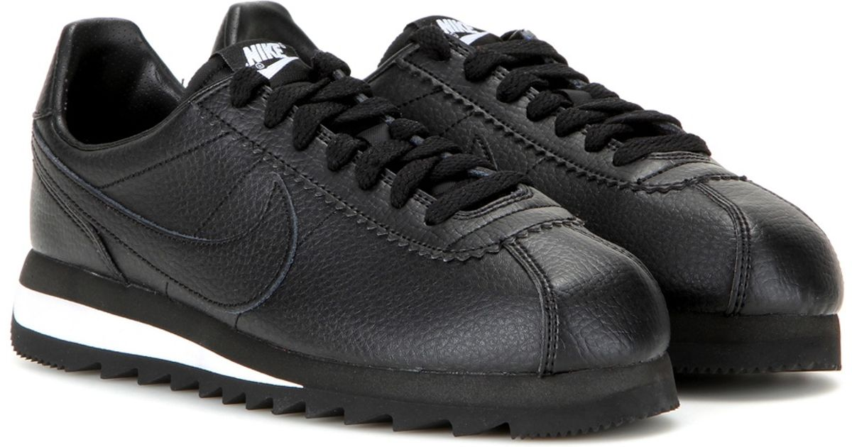 e160d4b49094 ... switzerland lyst nike classic cortez epic premium leather sneakers in  black 7d2d5 cf348