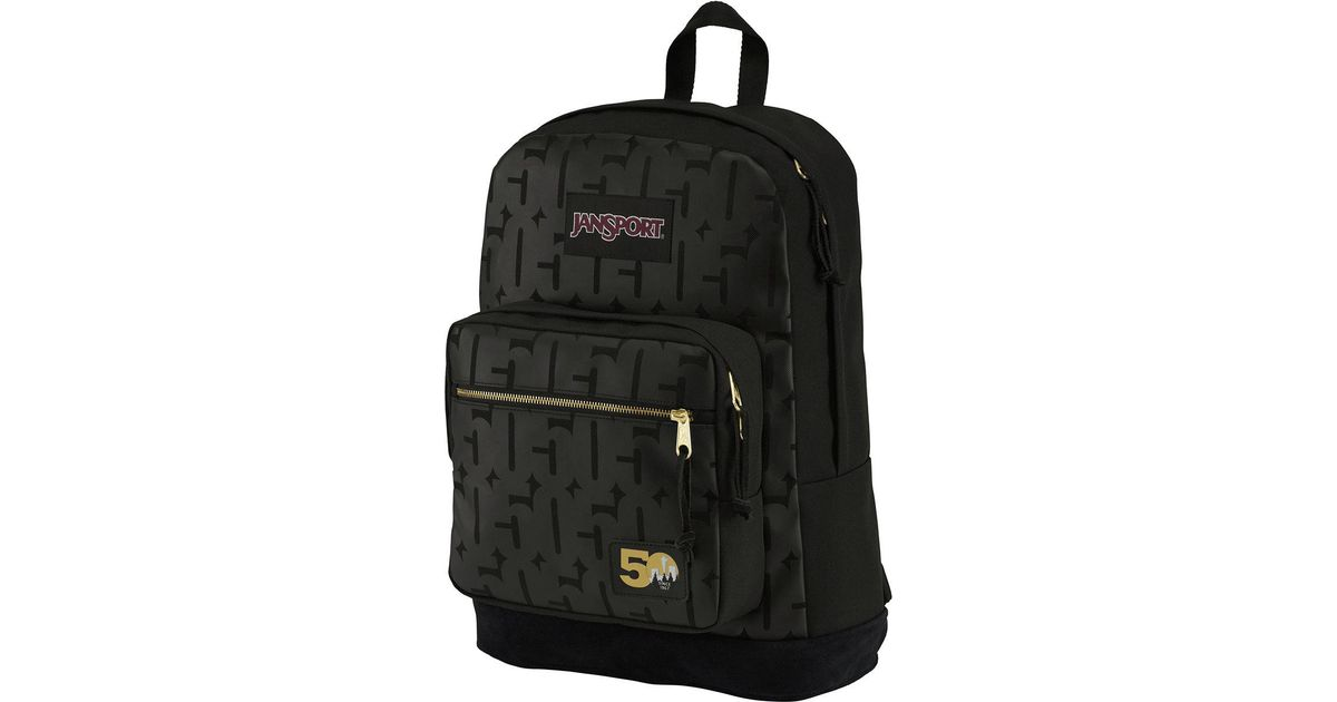Lyst - Jansport Right Pack 50th Anniversary Edition 31l Backpack in Black  for Men - Save 48% 23c3abe7d3108