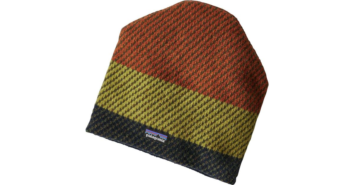 Lyst - Patagonia Backslide Beanie for Men 6c180f16760