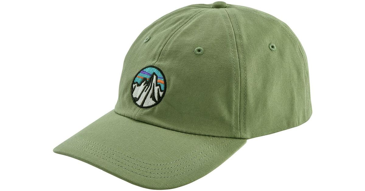 d706a1b36b956 Lyst - Patagonia Fitz Roy Scope Icon Trad Cap in Green for Men