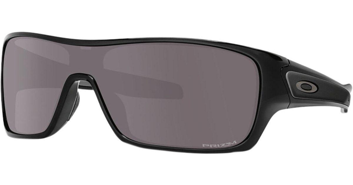 52b305c3f4 Lyst - Oakley Turbine Rotor Prizm Sunglasses in Black for Men