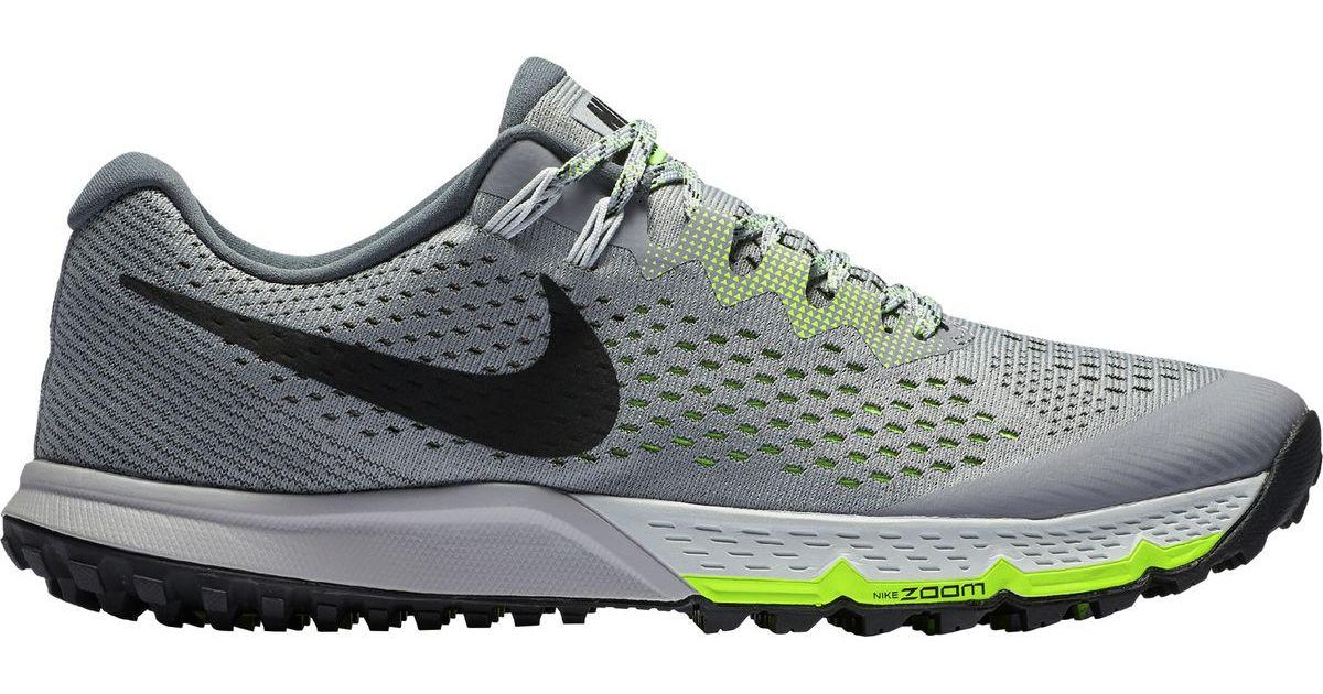 488b43e549e6 Lyst - Nike Air Zoom Terra Kiger 4 Trail Running Shoe in Gray for Men