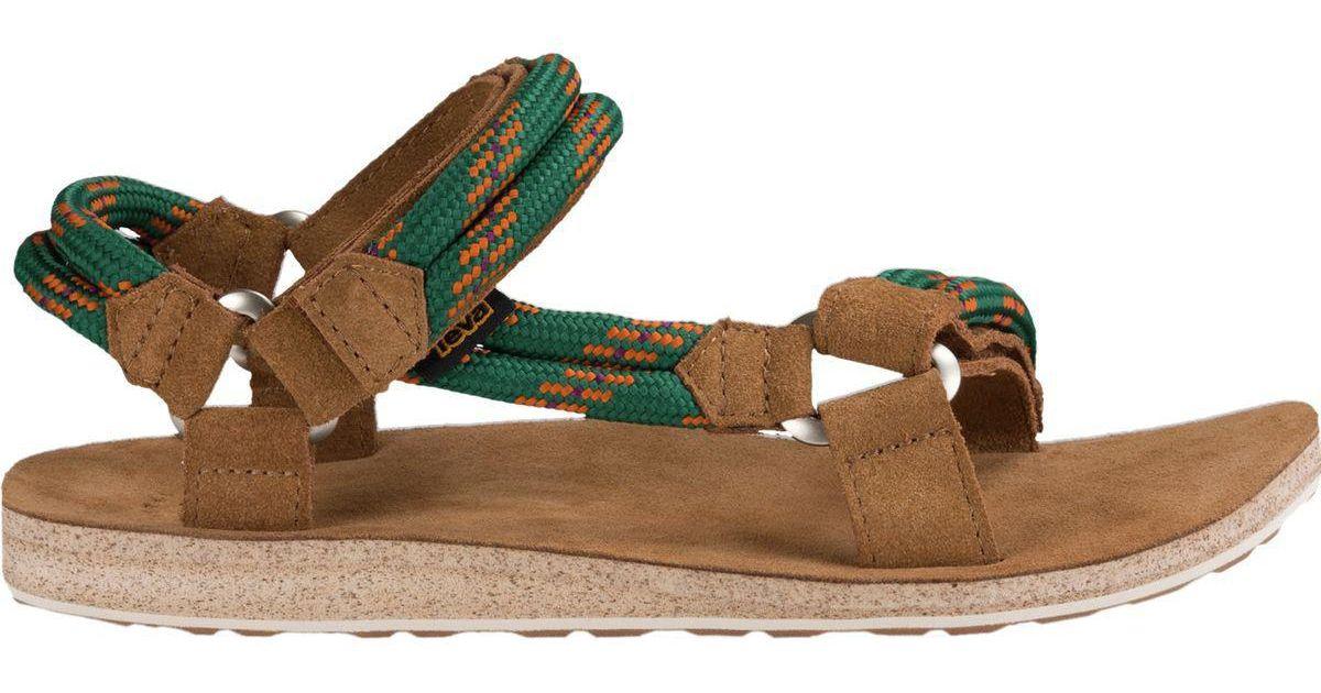 1ec39f743 Universal For Rope Sandal In Teva Original Lyst Men Green AOwq4H6n