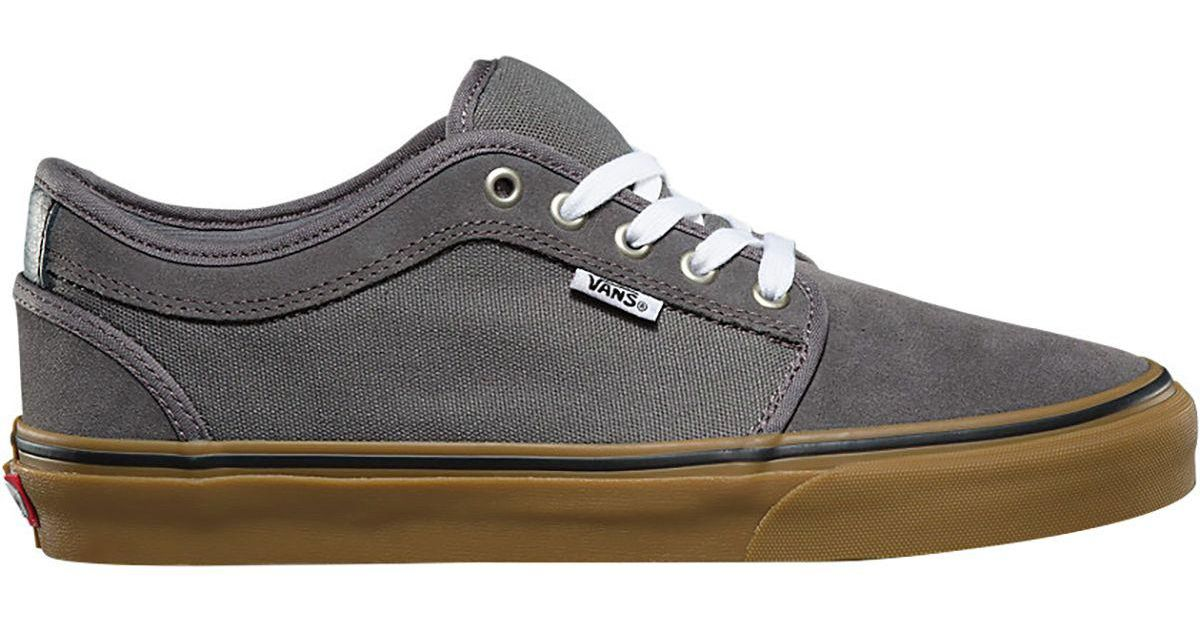 1cc4ae145cfe Lyst - Vans Chukka Low Skate Shoe in Gray for Men