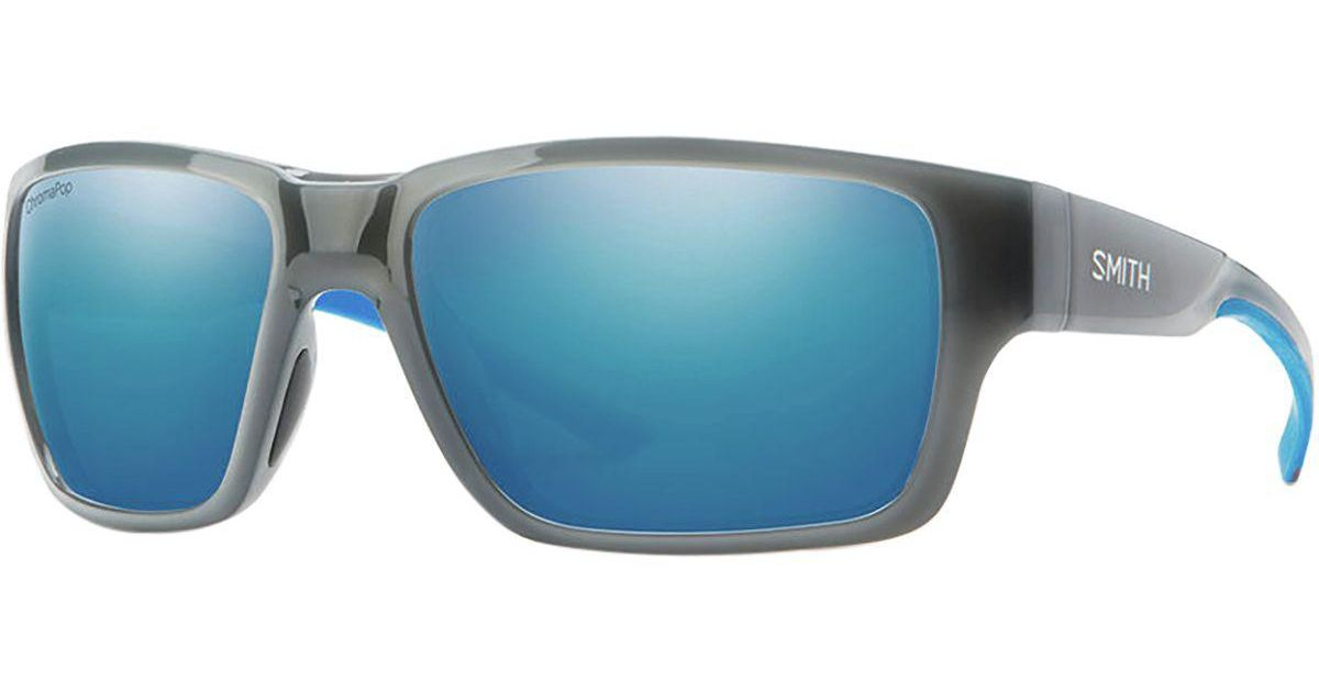 eeefaaecc24 Lyst - Smith Outback Chromapop Polarized Sunglasses in Blue for Men
