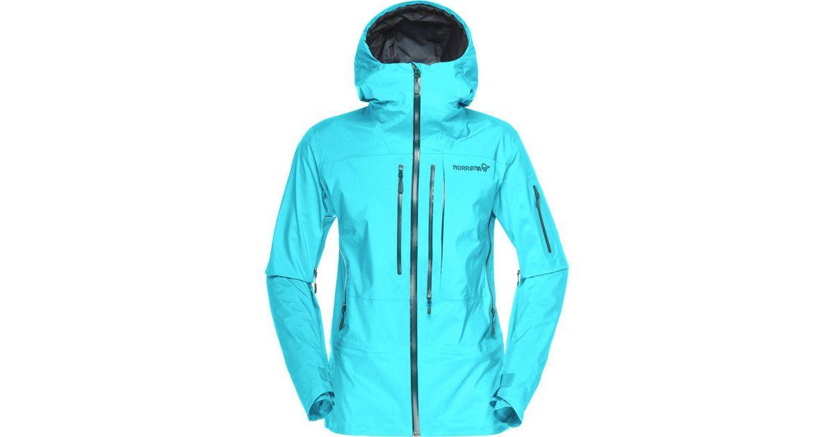 Lyst - Norrøna Lofoten Gore-tex Pro Jacket in Blue a88196fd5