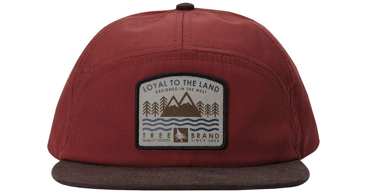 c15c7806f91 Lyst - HippyTree Shorewood Hat in Red for Men