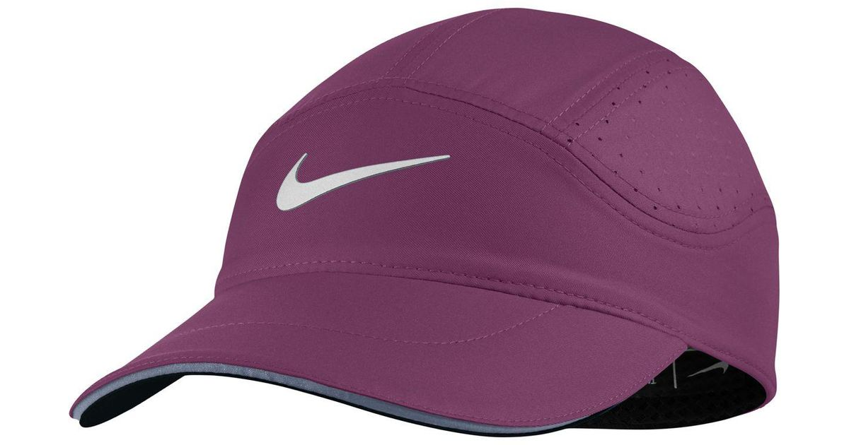 Lyst - Nike Aerobill Elite Running Hat in Purple 80e1593260a