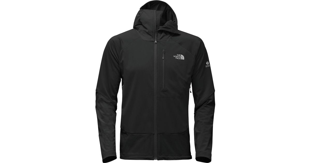 cf07c36002 ... promo code for lyst the north face summit l4 windstopper softshell  jacket in black for men ...