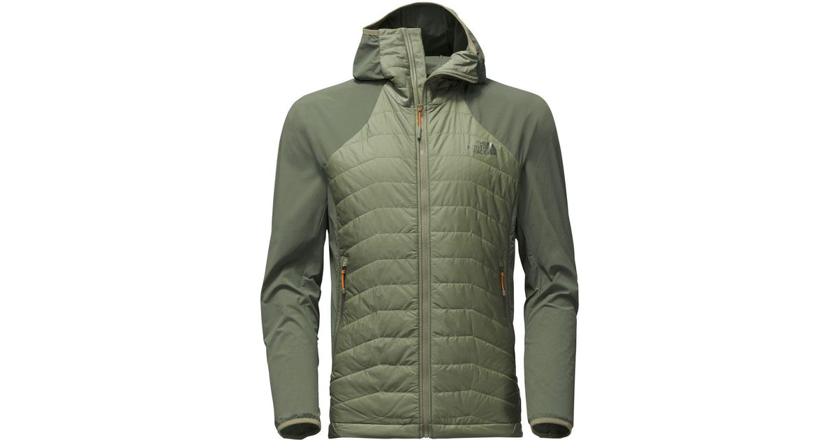 37aff7737df The North Face Progressor Insulated Hybrid Hooded Jacket in Green for Men -  Lyst