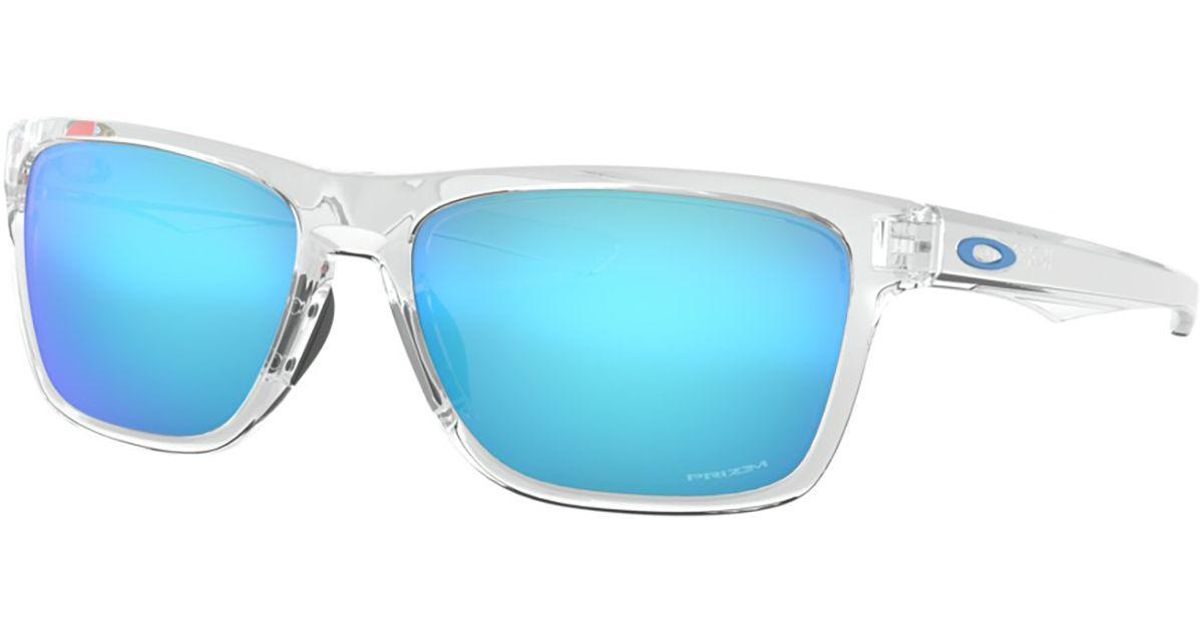 dc05a1fd52 Lyst - Oakley Holston Prizm Sunglasses in Blue for Men