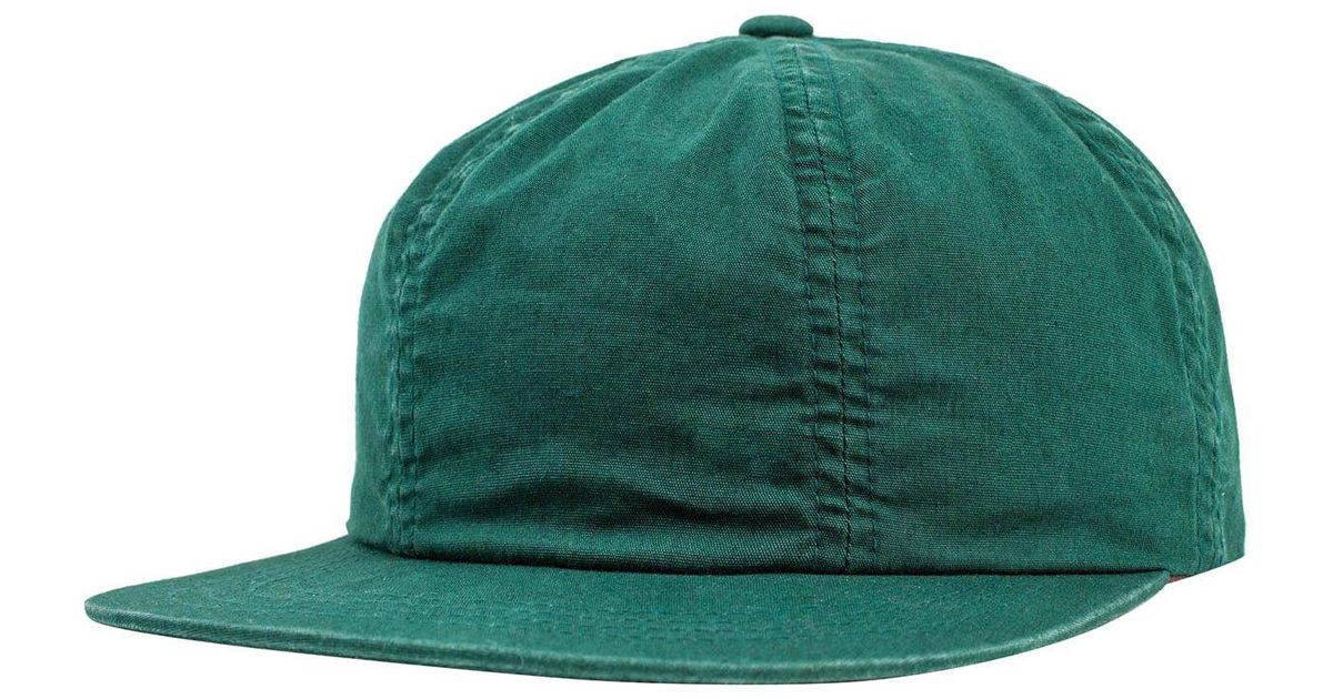 03e955b1f920f Lyst - Brixton Lakewood Cap in Green for Men