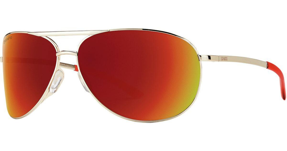3489f285620 Lyst - Smith Serpico 2 Chromapop Sunglasses in Red for Men