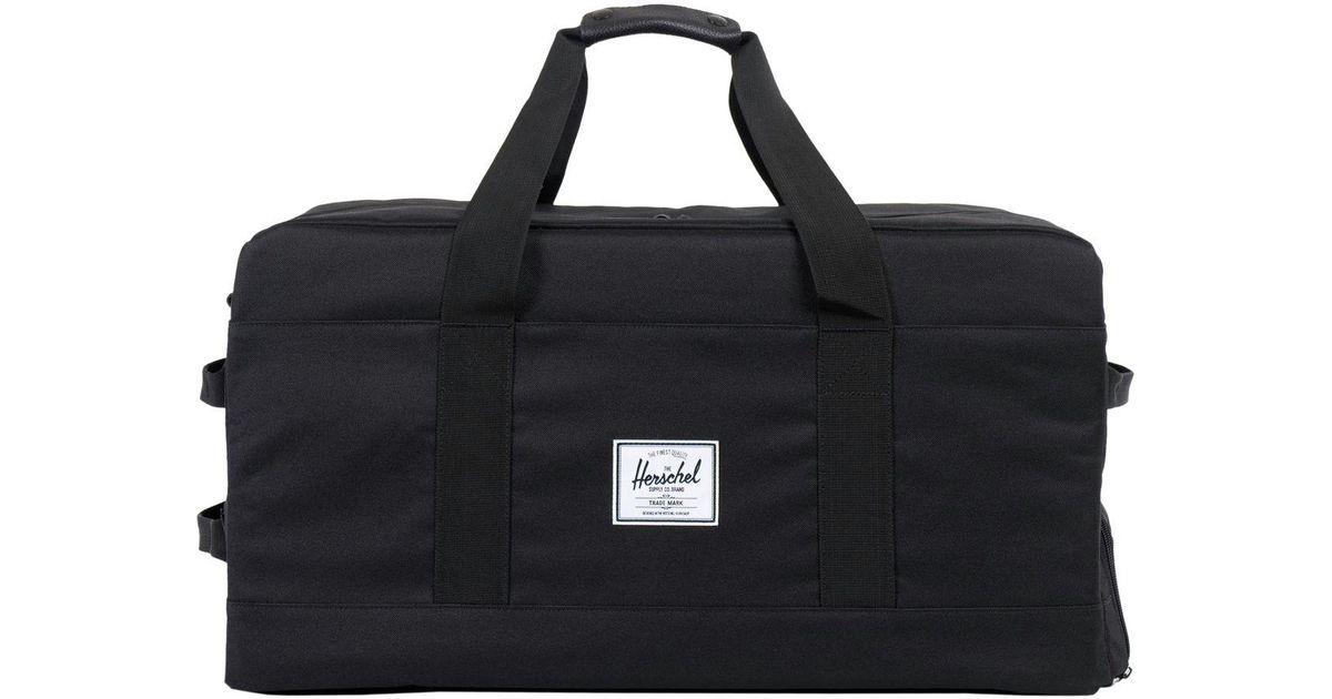 35cf117d2621 Lyst - Herschel Supply Co. Outfitter 63l Duffel in Black for Men