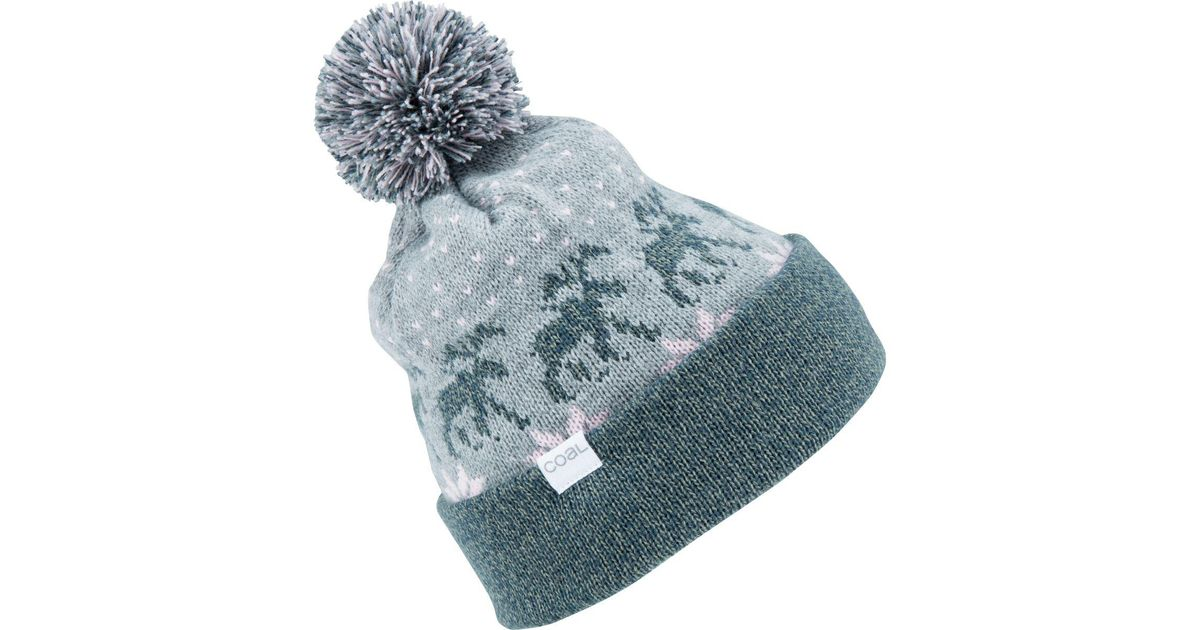 Lyst - Coal Lodge Pom Beanie in Gray 265b374574b