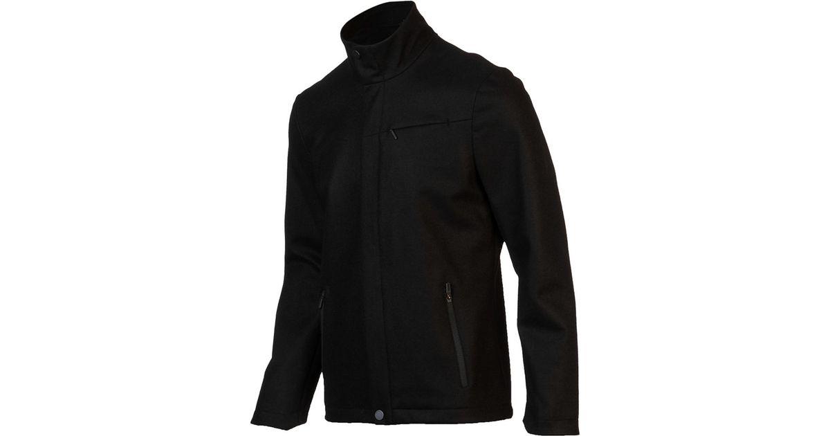 560b448f6c5 Icebreaker Legacy Coat in Black for Men - Lyst