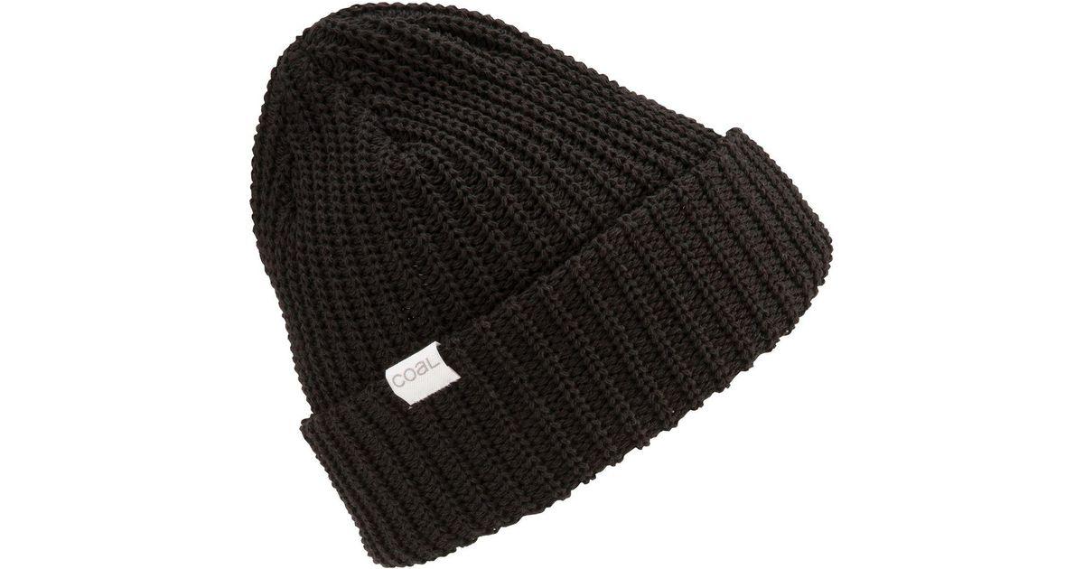 Lyst - Coal Eddie Beanie in Black for Men 4a1d26cd0e8