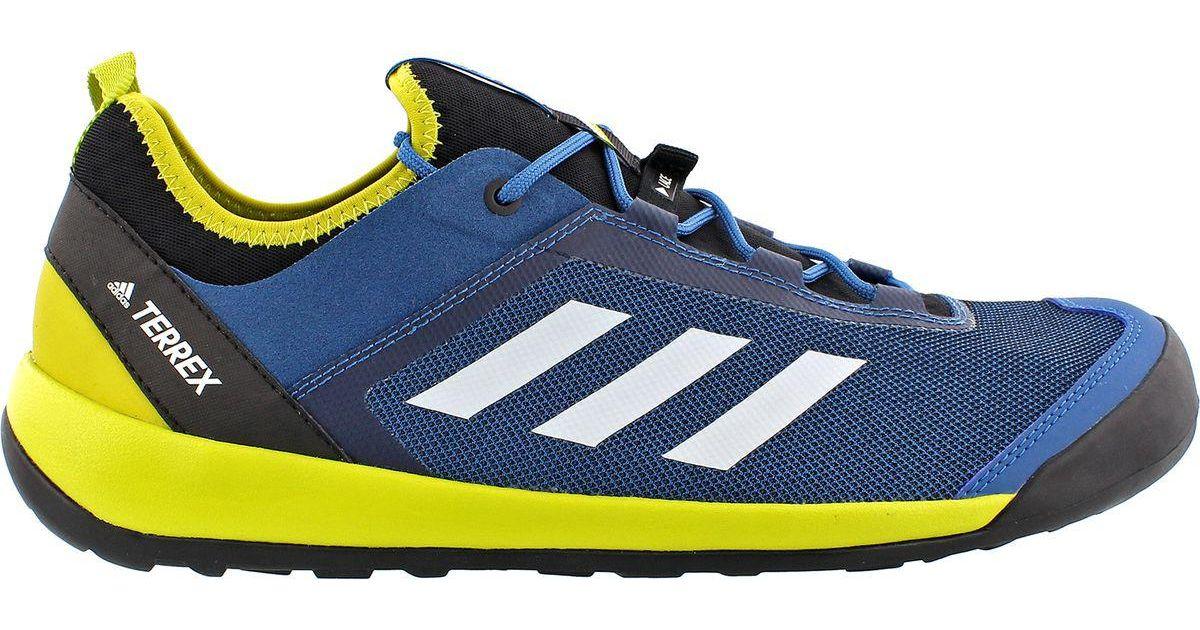 the latest 4f149 408d3 Lyst - adidas Terrex Swift Solo Shoe in Blue for Men