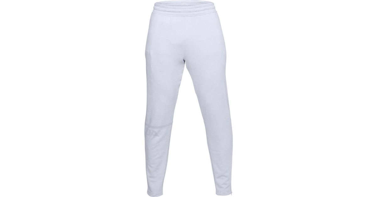 a44cda873bed Lyst - Under Armour Tech Terry Tapered Pant in Gray for Men