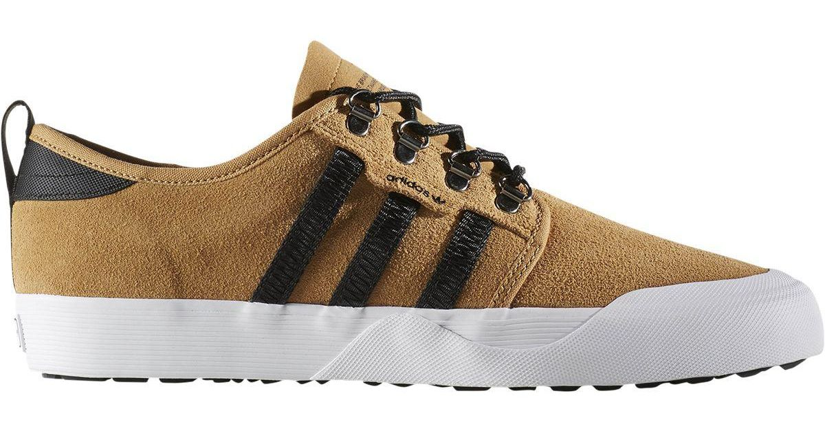 d2b7e5be7204 Lyst - adidas Seeley Outdoor Shoe in Brown for Men