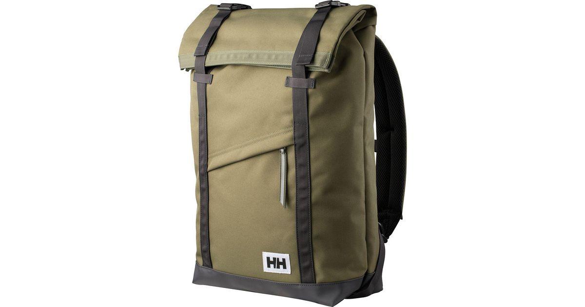 54ac063091 Helly Hansen Stockholm 28l Backpack in Green for Men - Lyst