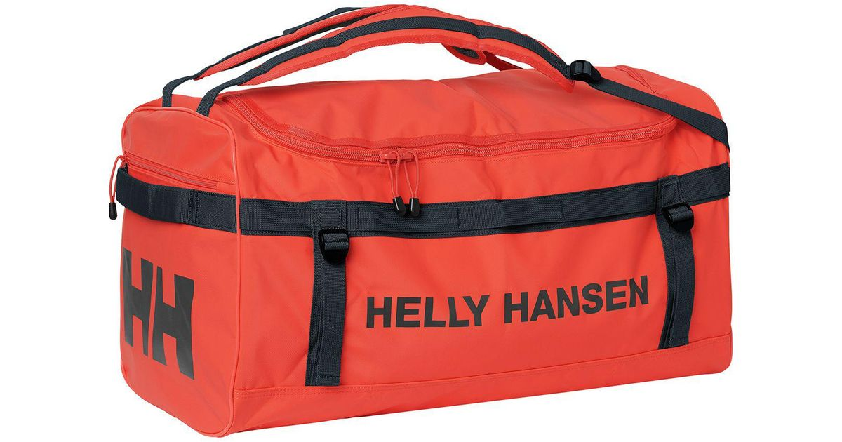 fbfb748bab Helly Hansen Classic 90l Duffel Bag in Red for Men - Lyst