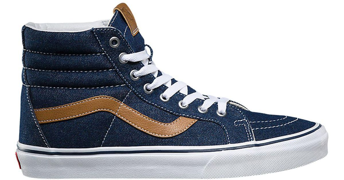 6dbdf77fbb Lyst - Vans Sk8-hi Reissue Shoe in Blue for Men