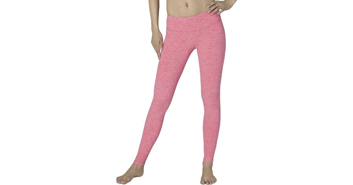 821ebe7422e9 Lyst - Beyond Yoga Spacedye Essential Long Leggings in Pink