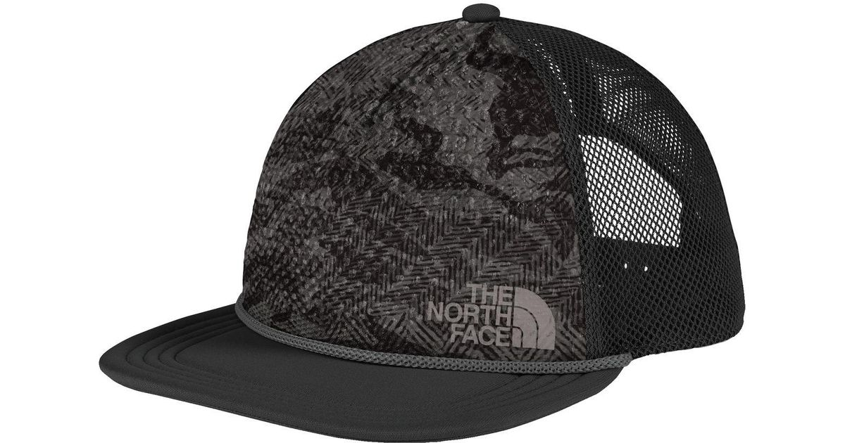 Lyst - The North Face Trail Trucker Hat in Gray for Men 0c06ea7941f