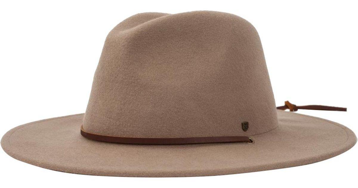 Lyst - Brixton Field Hat in Brown for Men 0b8db40217d