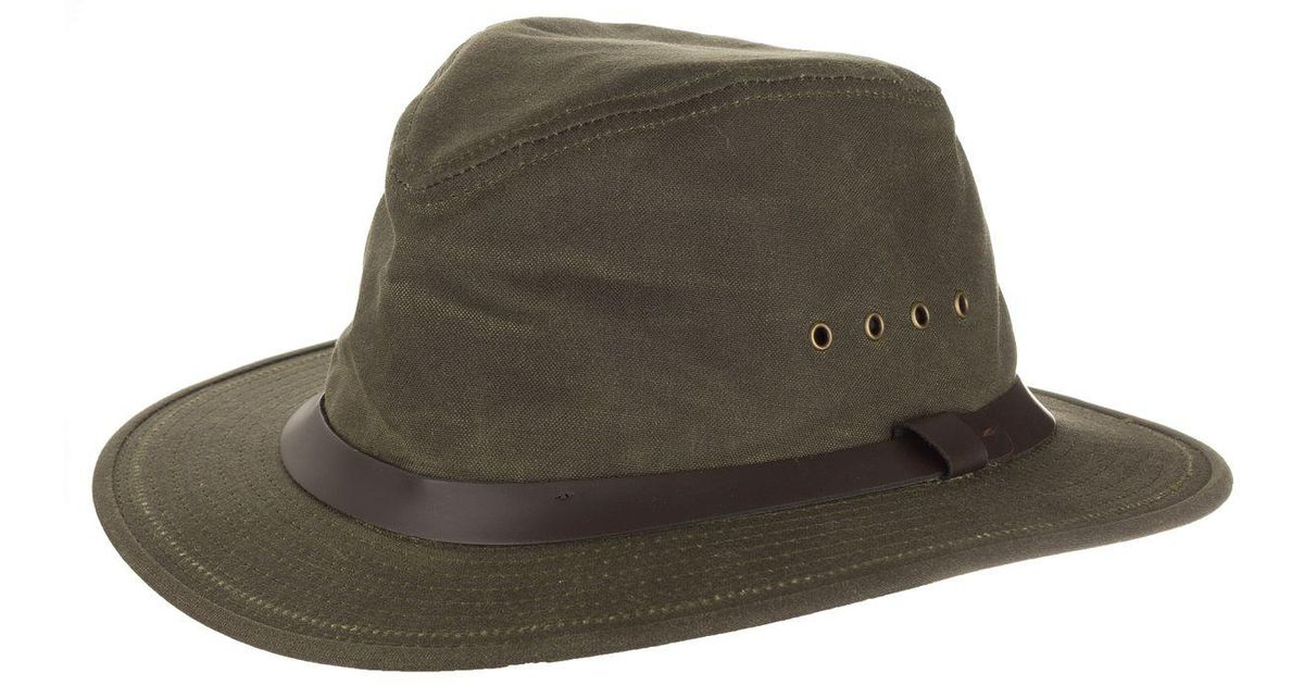 354ce3718 Filson Insulated Packer Hat in Green for Men - Lyst