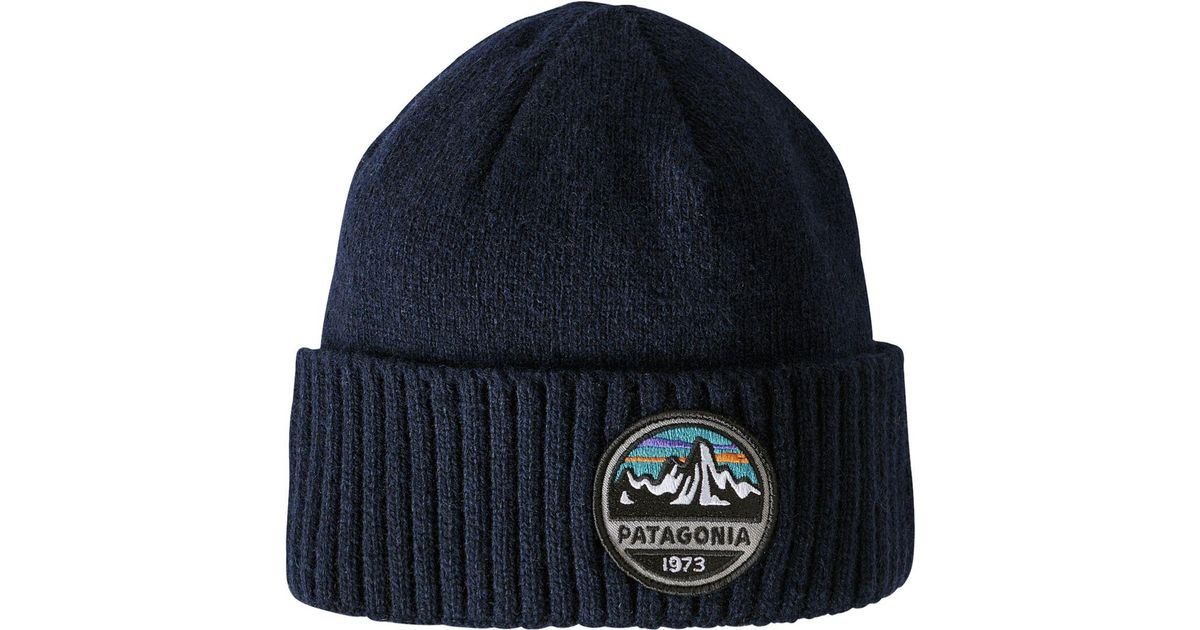 40209d5675 Patagonia Brodeo Beanie in Blue for Men - Lyst