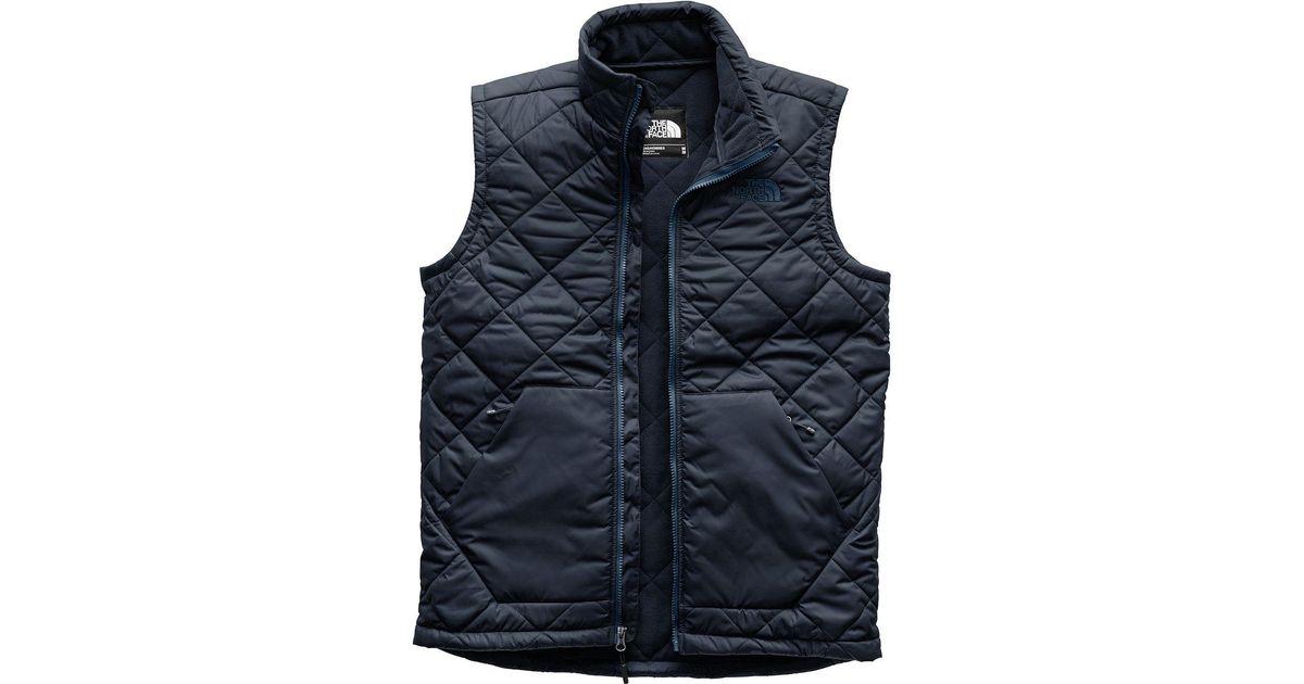 Lyst - The North Face Cervas Vest in Blue for Men 9f7c90d17
