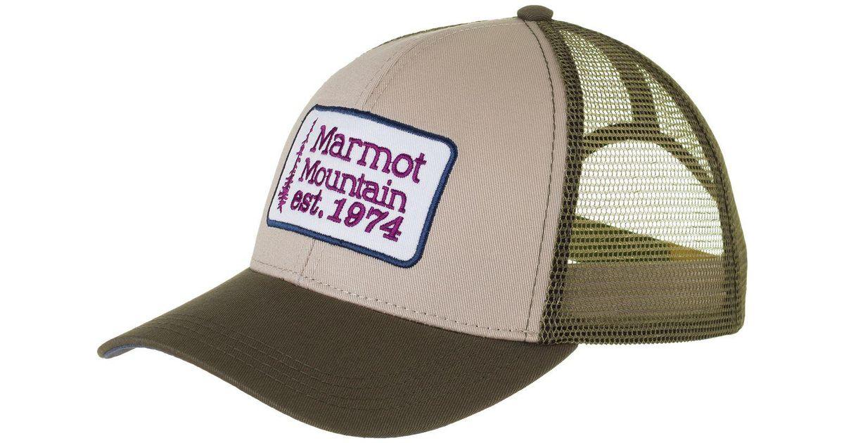 Lyst - Marmot Retro Trucker Hat for Men 7f55e9e5adc