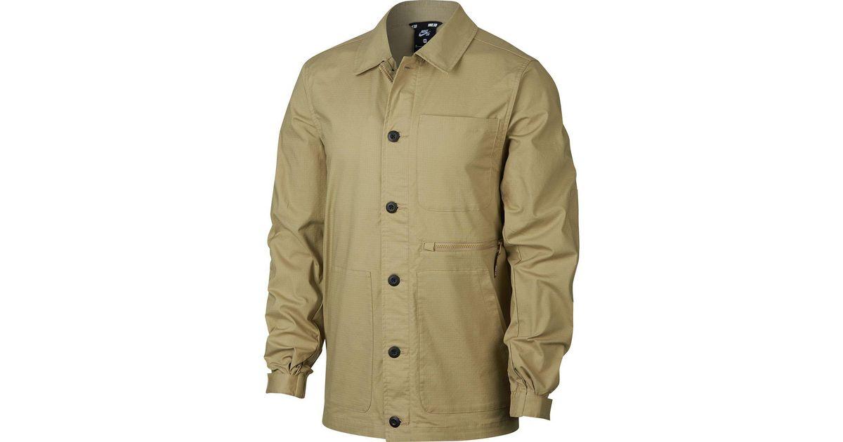 e594430f Nike Sb Flex Coaches Chore Jacket for Men - Lyst