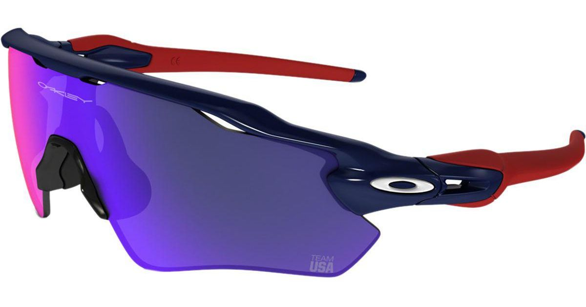 4950bdf0c4 Oakley Team Usa Radar Ev Path Sunglasses in Blue for Men - Lyst