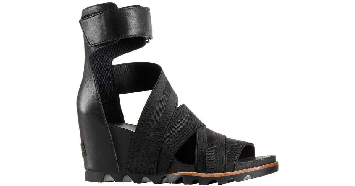 7fe03aac8 Sorel Joanie Gladiator Ii Sandal in Black - Lyst