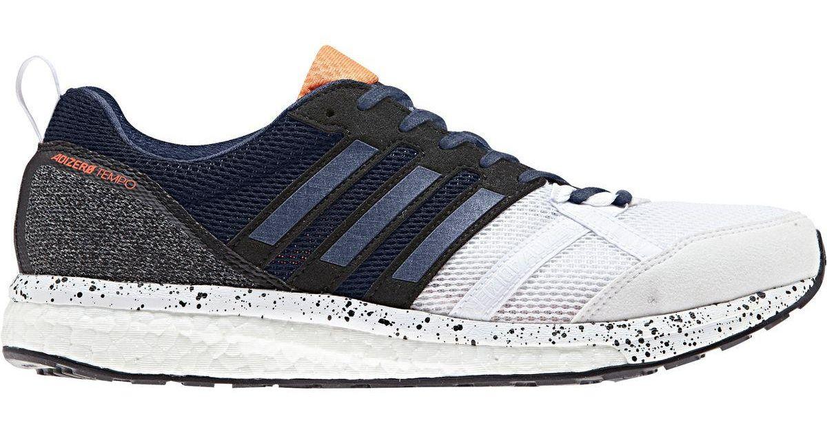 1de0d46593ffcc Lyst - adidas Adizero Tempo 9 Running Shoe in Blue for Men