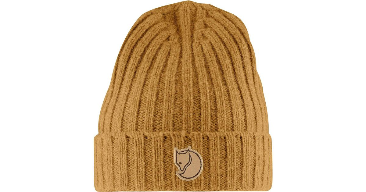 32ba92eae9d Lyst - Fjallraven Re-wool Hat in Brown for Men