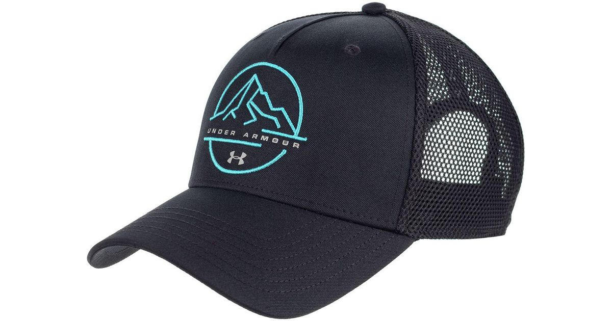 brand new 4338b 728f1 new zealand details about under armour mens fish hat gray black brown mesh  snapback trucker cap new 94056 8ce37  inexpensive lyst under armour outdoor  ...